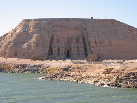 Photo:  Abu Simbel view from Lake Nasser