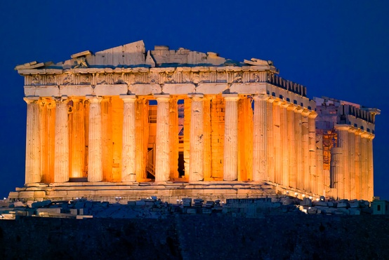 Photo:  Acropolis of Athens