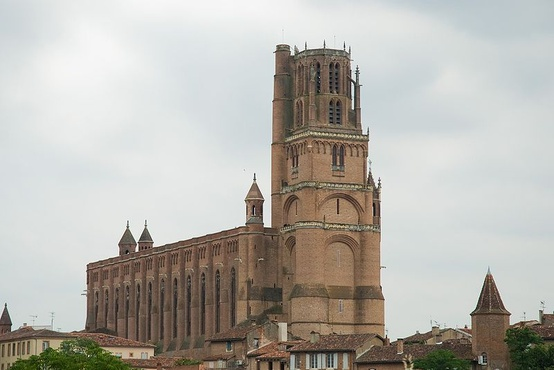 Photo:  Albi Cathedral begun 1276