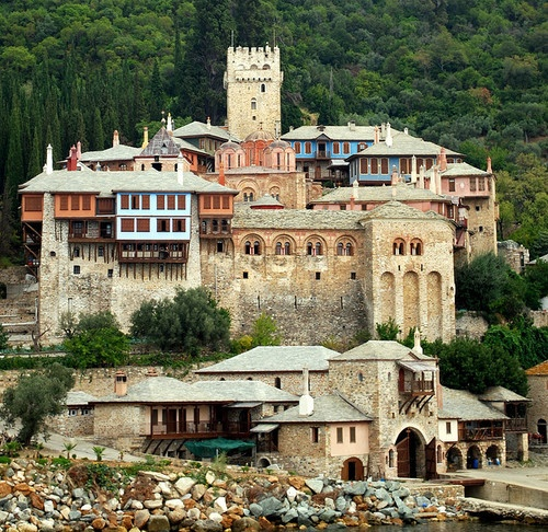 Photo:  agion oros, mount athos