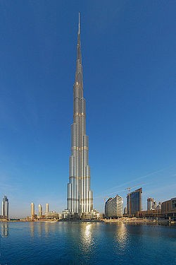 Photo:  Burj Khalifa (828 m)