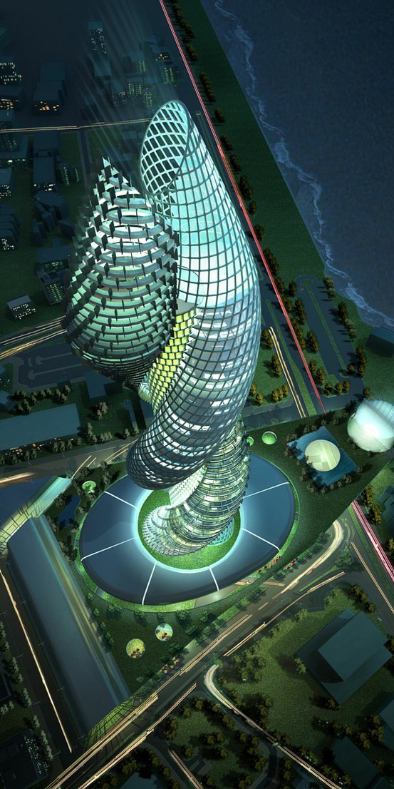 Photo:  Cobra Towers in Kuwait.