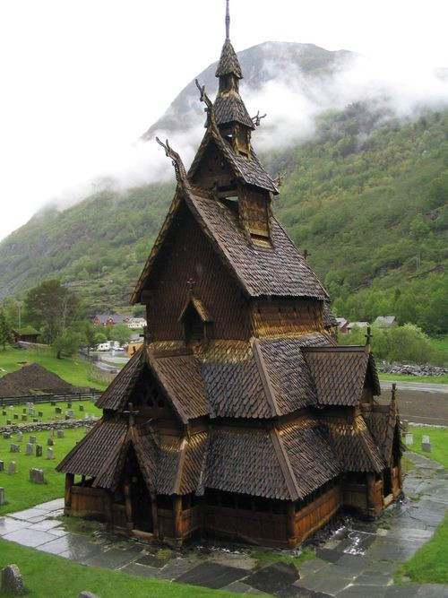 Photo:  Borgund Church, Norway