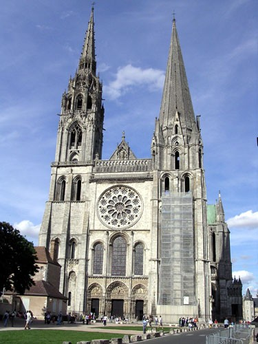 Photo:  Chartres Cathedral (France) 1200