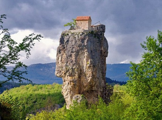 Photo:  Church of Katskhi Pillar