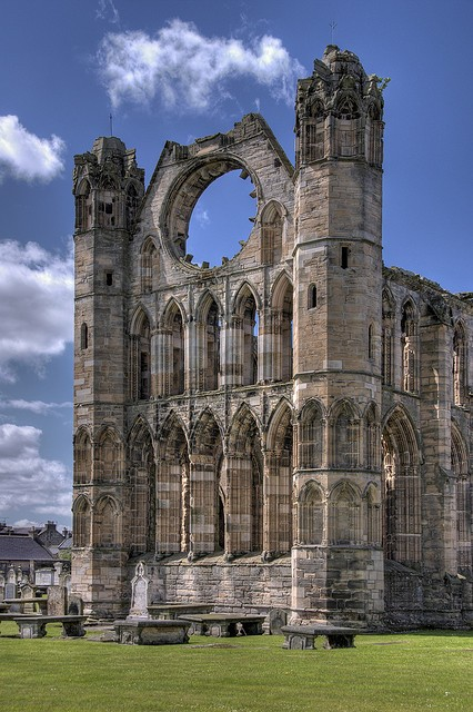 Photo:  Elgin Cathedral, Scotland