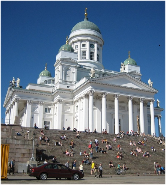 Photo:  Helsinki Cathedral