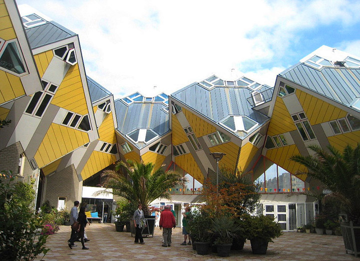 Photo:  'Cubic houses', Rotterdam