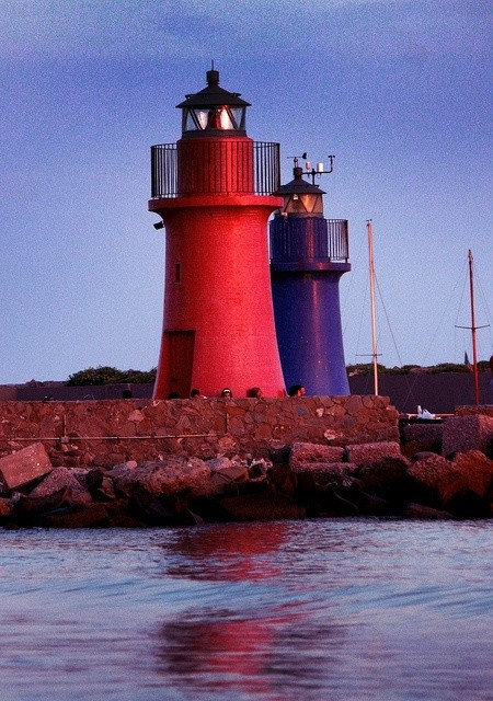 Photo:  2 Lighthouses