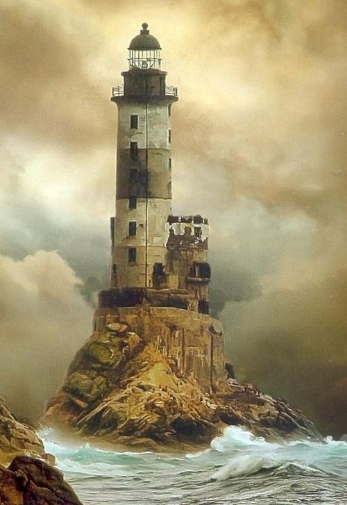 Photo:  Aniva Lighthouse, Sakhalin, Russia