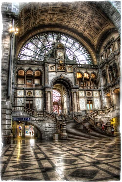 Photo:  Belgium Train Station