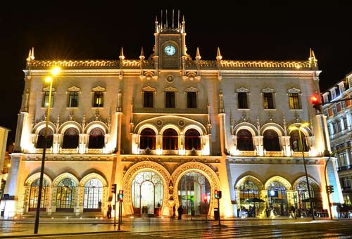 Photo:  Estação do Rossio, Lisbona, Portogallo