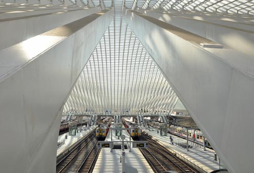 Photo:  Gare des Guillemins, Liegi, Belgio