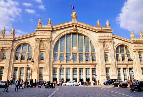 Photo:  Gare du Nord, Parigi, Francia