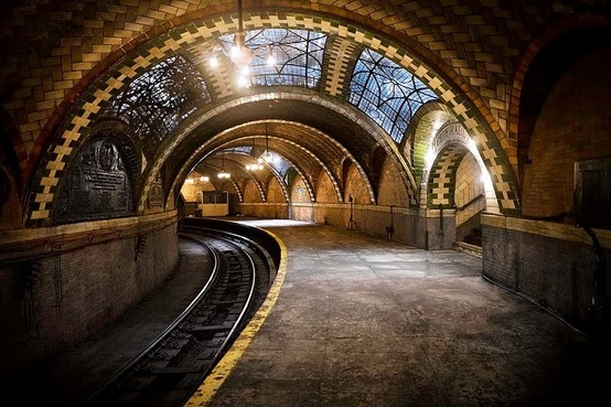 Photo:  NYC's city hall ghost station