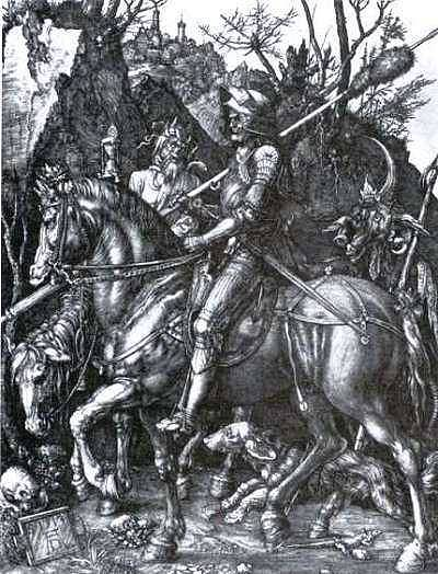 formal analysis of durer's knight death The evolution of childhood do ye hear the children weeping, oh my brothers    the cry of the children elizabeth barrett browning 1 the history of childhood is a nightmare from which we have only recently begun to awaken.