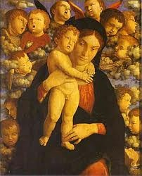 Photo:  Andrea Mantegna, Madonna and child