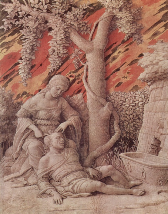 Photo:  Andrea Mantegna,Samson and Delilah