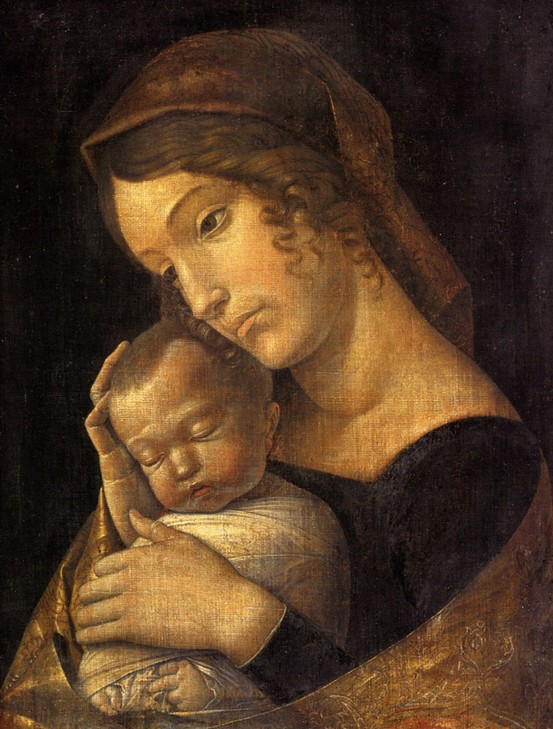 Photo:  Andrea Mantegna,Virgin and Child