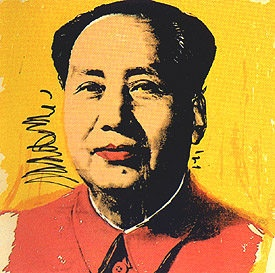 Photo:  Andy Warhol Mao