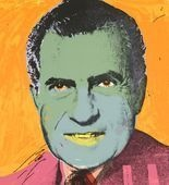 Photo:  Andy Warhol, Nixon