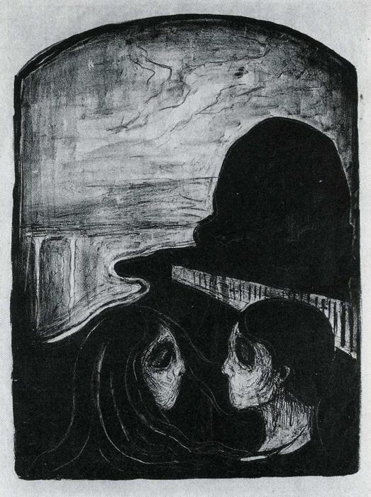 Photo:  Edvard Munch, Attraction