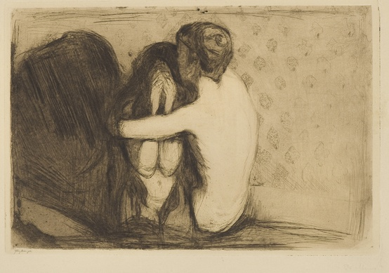 Photo:  Edvard Munch, Consolation