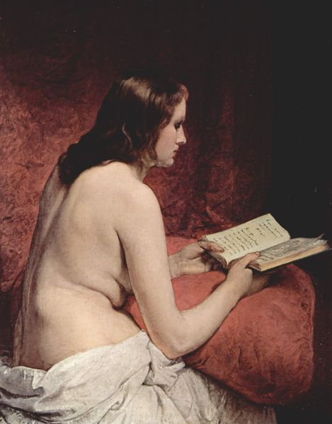 Photo:  Odalisque with Book