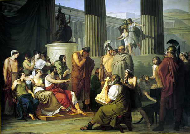 Photo:  Ulysses at the Court of Alcinous