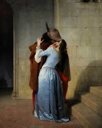 Photo:  il Bacio, 1859 dal pittore italiano Francesco Hayez