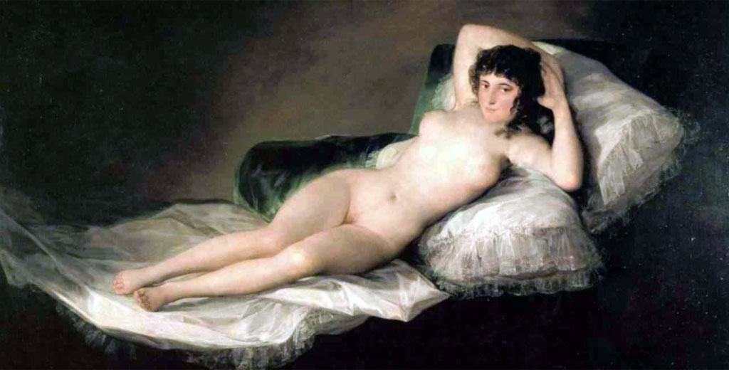 Photo:  Francisco Goya,Maja desnuda,1800