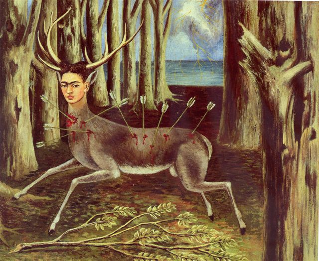 Photo:  Kahlo's The Wounded Deer (1946)
