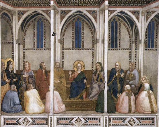 Photo:  Christ Among the Doctors Giotto, 1311