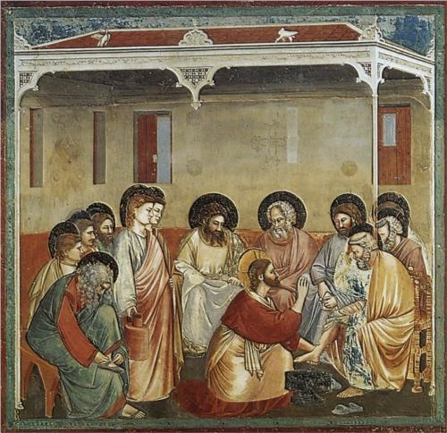 Photo:  Christ Washing the Disciples Feet