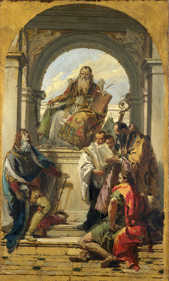 Photo:  Four Saints by Giovanni Battista Tiepolo