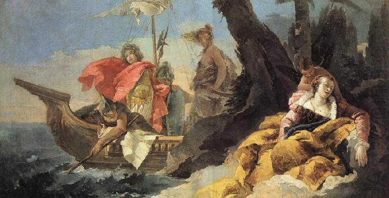Photo:  Rinaldo Abandons Armida, Giovanni Battista Tiepolo