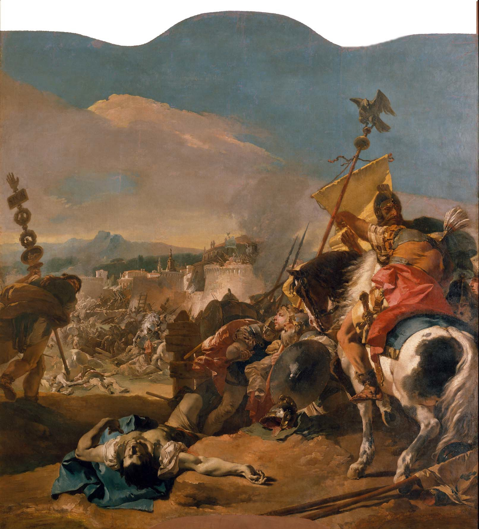 Photo:  The Capture of Carthage