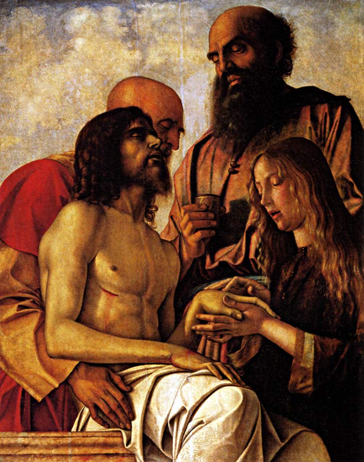 Photo:  Giovanni Bellini, Compianto sul Cristo morto (Pietà), ca. 1470