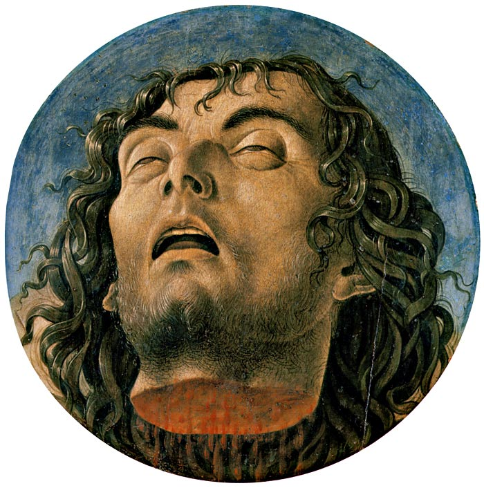 Photo:  Giovanni Bellini, Head of St. John the Baptist, ca. 1464