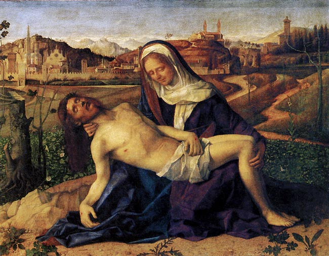 Photo:  Giovanni Bellini, Pietà, ca.1505