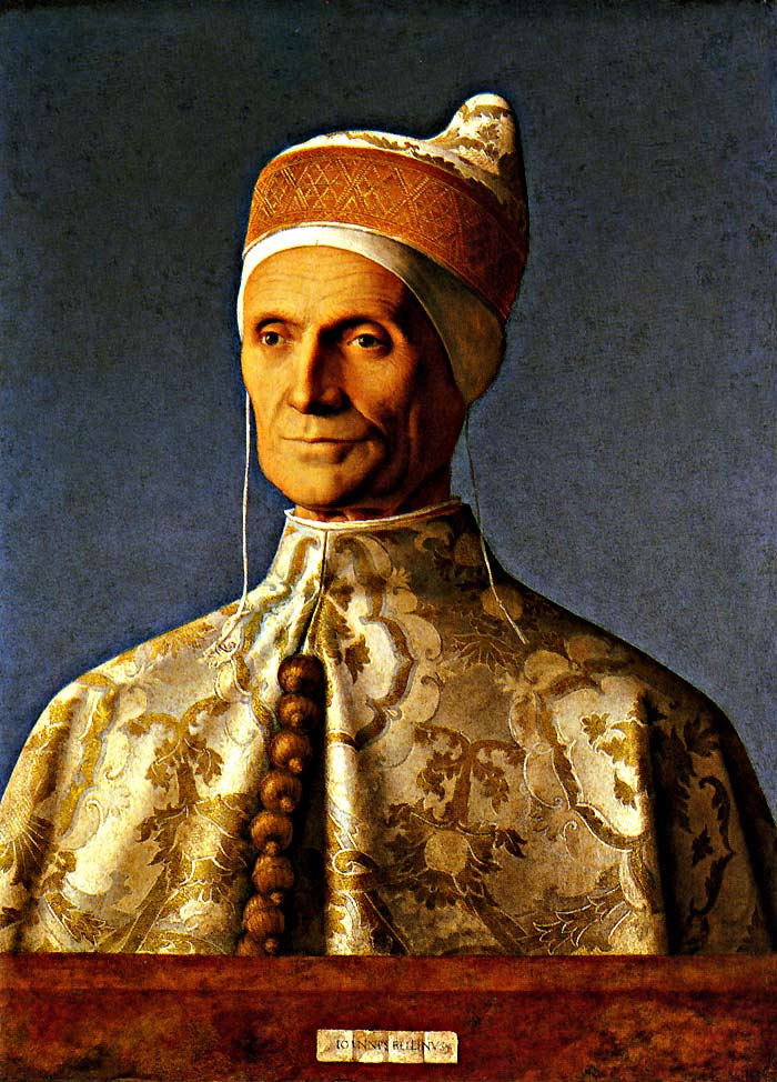 Photo:  Giovanni Bellini, Portrait of Doge Leonardo Loredan, ca. 1501