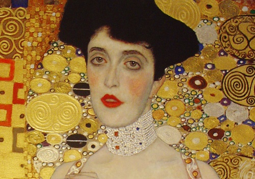 Photo:  Gustav Klimt, Adele Bloch Bauer