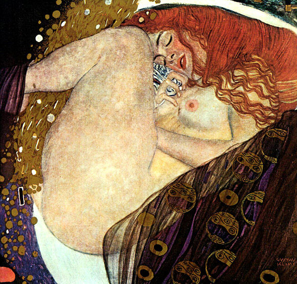 Photo:  Gustav Klimt, Danae, 1907