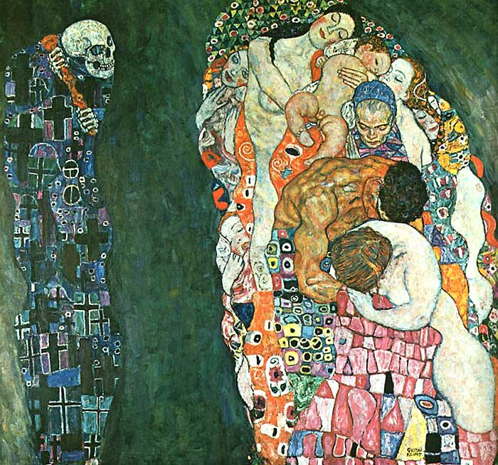 Photo:  Gustav Klimt, Death and Life, 1916