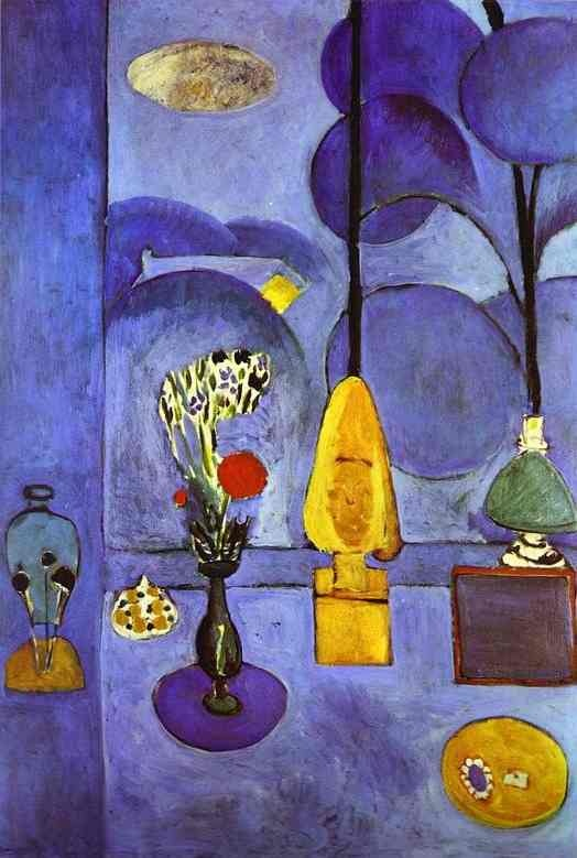 Photo:  Henri Matisse 'The Blue Window' 1912