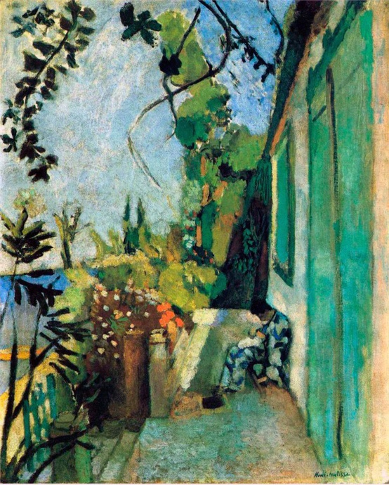 Photo:  Henri Matisse 'The Terrace, St. Tropez', 1904