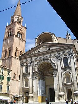 Photo:  Sant'Andrea, Mantua 1500, built by Leon Battista Albert 2i