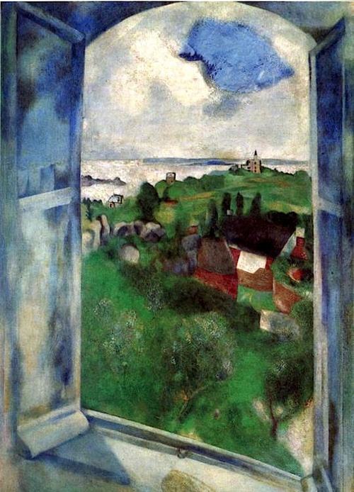 Photo:  Marc Chagall, The Window (1924)