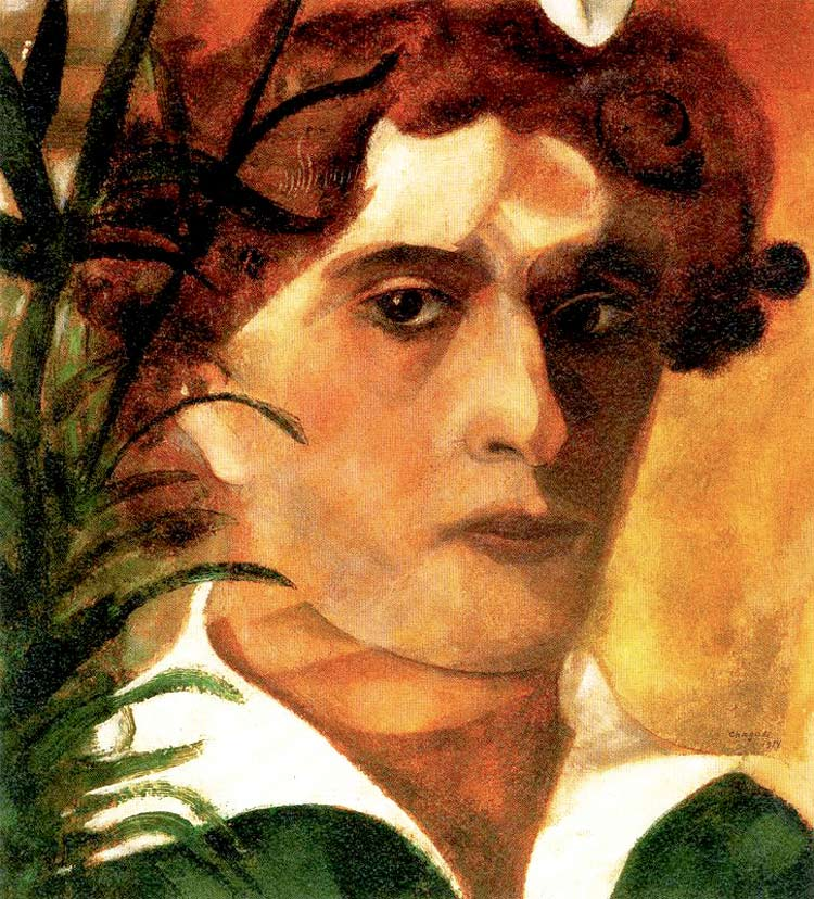 Photo:  Marc Chagall,Self