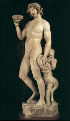 Photo:  Bacchus (1487) ~ Michelangelo